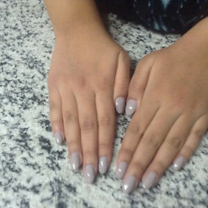 Gel nails only $35 including color and glitter Edmonton Edmonton Area image 2
