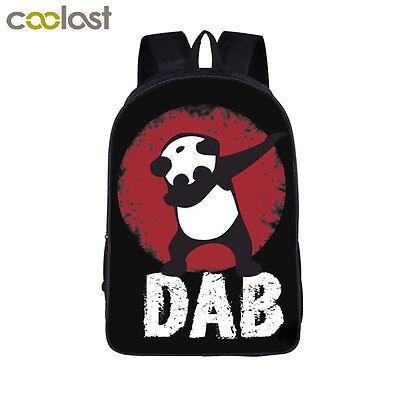 Backpack Panda Dab Unicorn Dabbing Backpack Teens Boys Girls Backpack School Bag