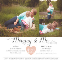 Mommy & Me Photography Sessions!