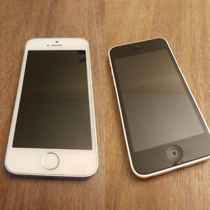 Iphone 5C 16GB Fido / Iphone 5S 16GB Bell