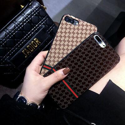 Luxury Case iPhone XS 11Pro Max XR X 7 8 Plus Cover Silicone Fashion Designer