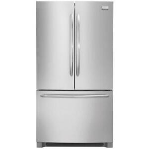 "Frigidaire Gallery FGHN2866PF 36"" French Door Refrigerator With Ice Maker Energy Efficient, 27.8 cubic ft, LED Lighting,"