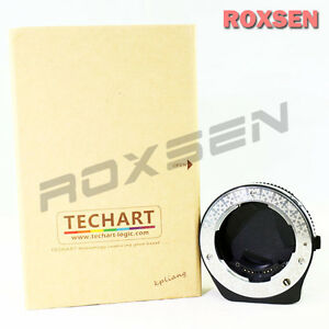Techart Auto Focus AF Contax G G1 mount lens to Sony E NEX A7 6 7 5R A7R adapter