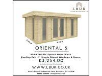 Garden Log Cabins, Leisure Buildings & Summerhouses FOR SALE!