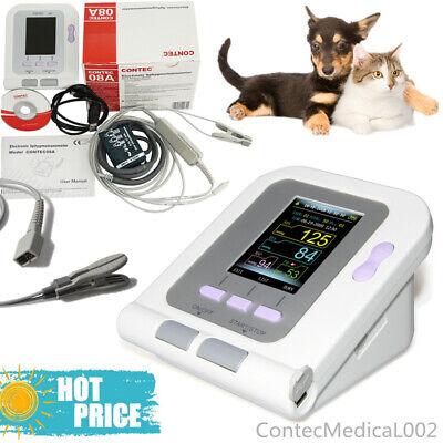 Fda Digital Blood Pressure Monitor Veterinary Nibp Spo2 Pulse Rate Oximeter Sw