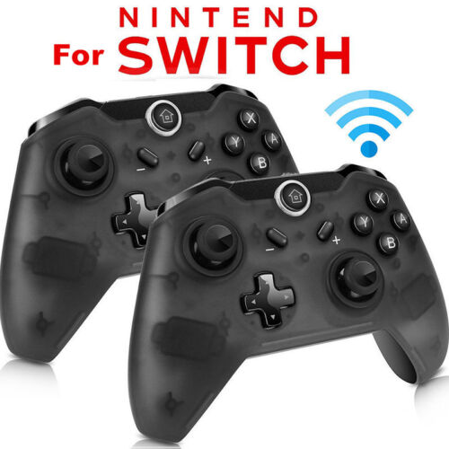 1x 2x Wireless Pro Controller Gamepad Joypad Remote for Nintendo Switch Console Controllers & Attachments