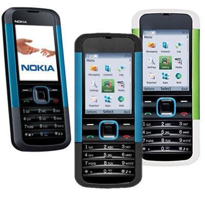 Unlocked Bluetooth Camera GSM Keyboard NOKIA 5000 Video FM Radio Bar Cell Phone
