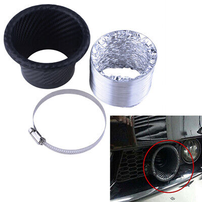 Universal Turbo Air Intake Pipe Turbine Inlet Pipe Air Funnel Hose Tube Round