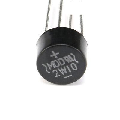 1050100pcs Dip 2w10 2a1000v Bridge Rectifier Silicon Bridge Rectifier