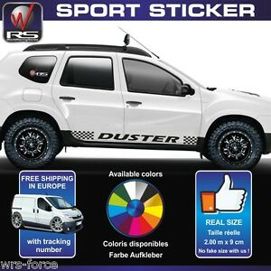 dacia duster sticker decal flag tuning pegatina aufkleber. Black Bedroom Furniture Sets. Home Design Ideas