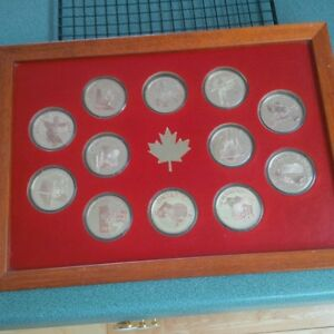 Silver Centennial Coin Collection