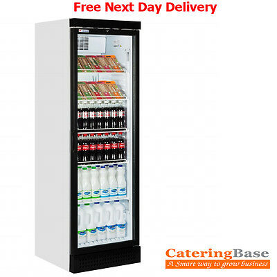 Single Glass Door Food & Beverage Drink Display Fridge @ Free Next Day Delivery