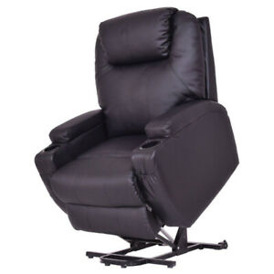 Electric Lift And Recline chair with heat and massage remote