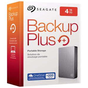 4TB Hard drive sale! This weekend only!