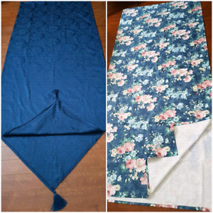 3 Sets of Curtains, 2 Window Scarves