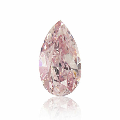 Pink Diamond Natural 0 .11 Ct GIA Certified Real Argyle Fancy Color Pear Cut