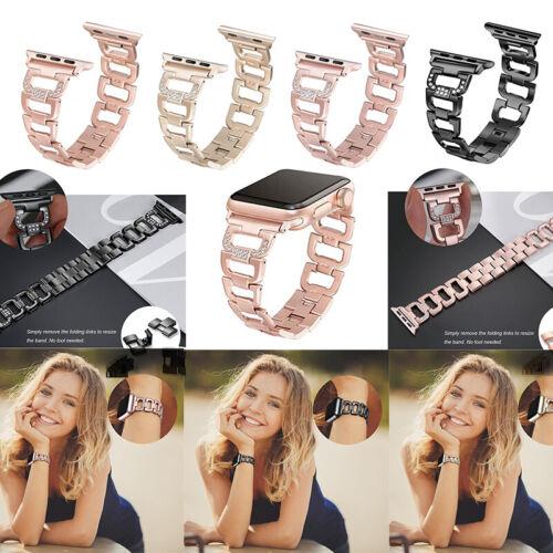 Jewellery - Stainless Steel Bracelet iWatch Band Strap Apple Watch Series 6 5 4 3 2 SE 40/44