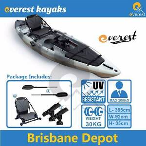 ON SALE Everest 4m Pro Fishing Kayak Package North Lakes Pine Rivers Area Preview