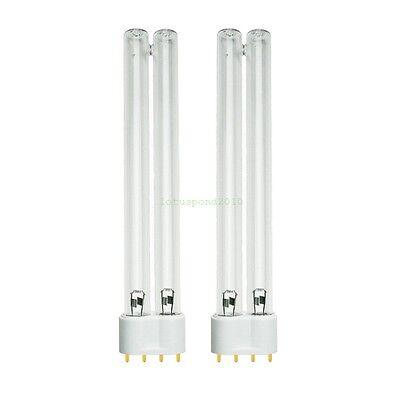 2 Bulb 18W 18 watt UV for Tetra Pond Clarifier 2G11 New