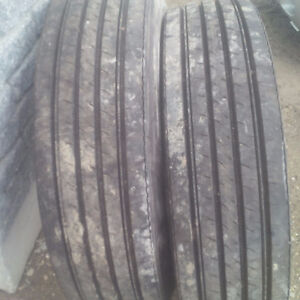 new trailer tires or steering tires