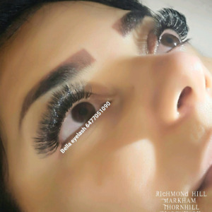 $85 volume mix with classic eyelash extension