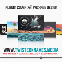 Album Cover Package Design for Bands & Musicians!