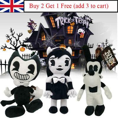 Bendy and the Ink Machine Series Figure Bendy Boris Plush Toys Doll Kids Gift UK