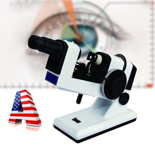 US FDA 110V Manual Lensmeter Lens Tester Scale Clear Focimeter Optometry Machine