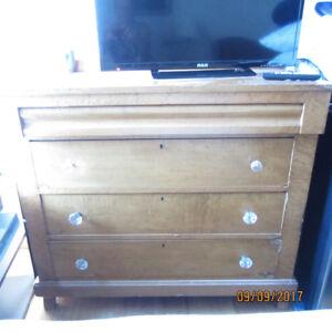 Birds Eye Maple Antique Dresser