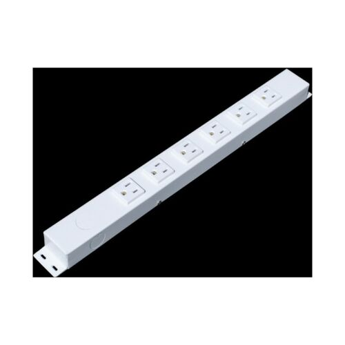 """16"""" 6 Outlets Hardwired Power Strip, H01606NVW1"""