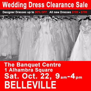 Wedding Dress Clearance Sale Bridal Show $199-$799 Sizes 2-28