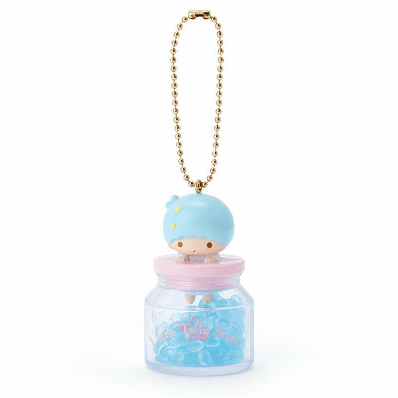 Little Twin Stars Kiki Fragrance Ball Key Chain Strap Melon Sanrio ABS resin New
