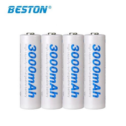 AA 3000mAh 1.2V Wiederaufladbare Rechargeable Akku Li-lon Batterien Batterie Neu