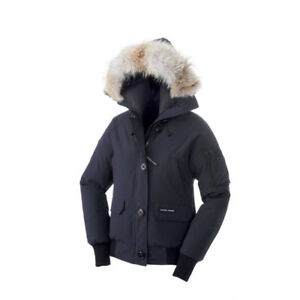 NEW AUTHENTIC WOMENS CANADA GOOSE CHILLIWACK BOMBER WITH TAGS