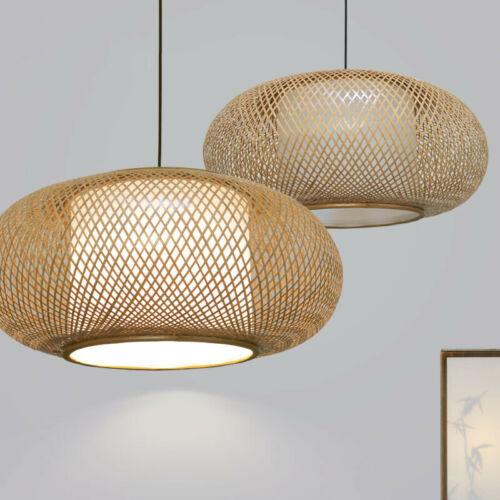 Bamboo Wicker Rattan Shade Pendant
