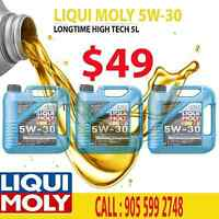 LiquiMoly Longtime High Tech 5W-30 Synthetic Motor Oil - 5 Ltr