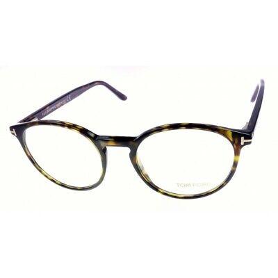 Tom Ford TF5524 052 Brille Korrektionsfassung Kunststoff unisex Havanna