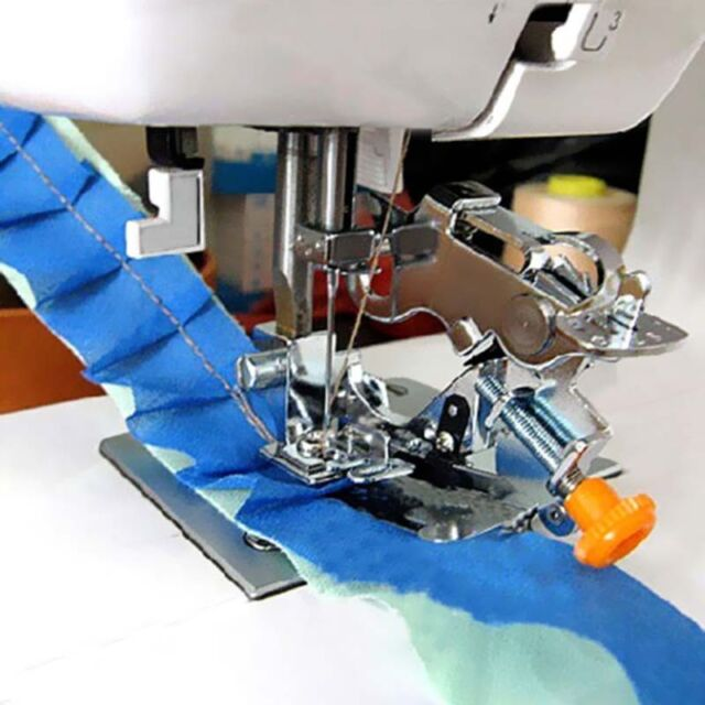 Household Ruffler Presser Foot Low Shank Pleated Sewing Machine Accessories New