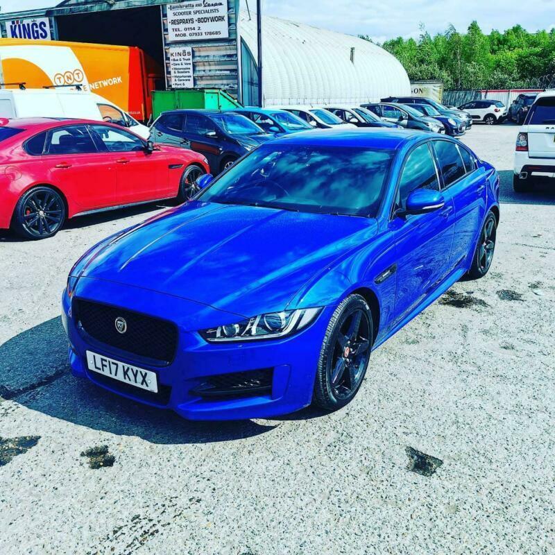 Jaguar Xe R Sport 2017 3d Model