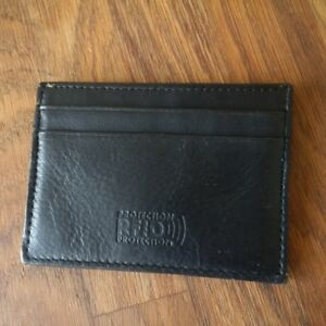 Black Leather Wallets. Fox and Volcom