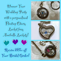 Annibelle Lockets For Brides and Wedding Party