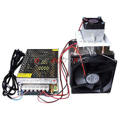 Semiconductor Refrigeration Thermoelectric Peltier Diy Air Cooling Devicepower