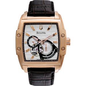 NEW Genuine BULOVA Watch Leather Strap
