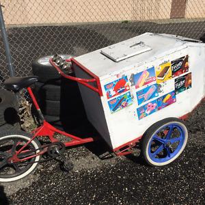 Ice Cream Vending Tricycle