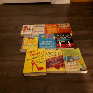 Shopie kinsella chapter book lot