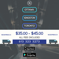FREE WIFI RIDESHARE TO/FROM TORONTO $30