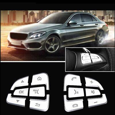 Volantes Botón Fundas Borde para Mercedes Benz Glc Clase C W205 15 ~ 18