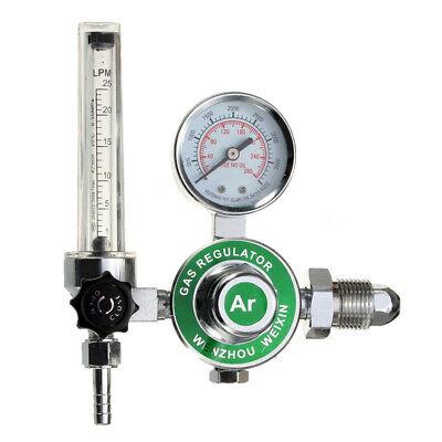 Argon Co2 Gas Mig Tig Flow Meter Welding Weld Regulator Gauge For Welder