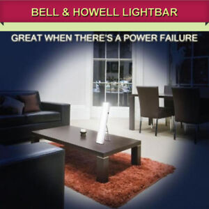 POWER OUTAGE? NO PROBLEM! TRY A BELL & HOWELL LIGHTBAR