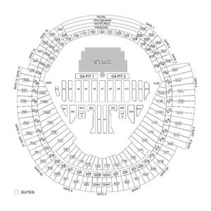 2 Guns and Roses tickets July 16th Rogers Center sec 535